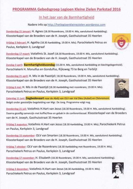 LKZ Programma 2016 Parkstad