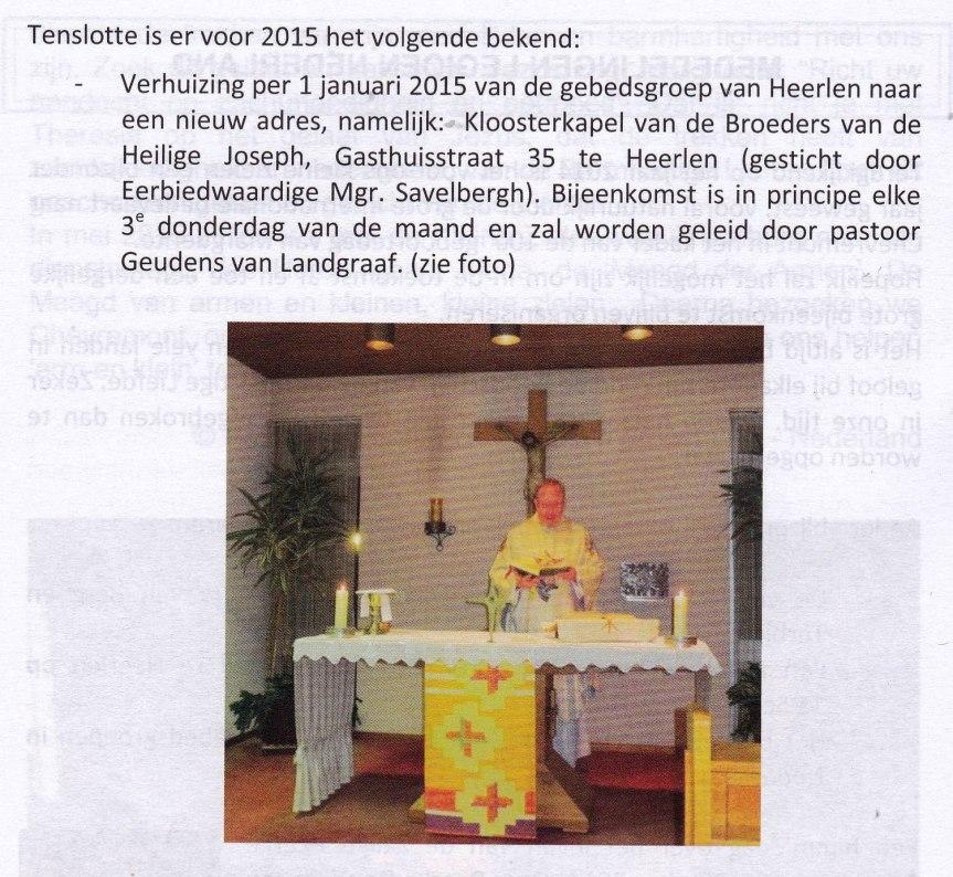 Uit; Tijdschrift Legioen Kleine Zielen, blz. 36